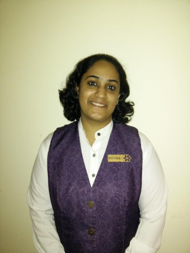 Krithika Pajewar, Assistant Restaurant Manager.jpg