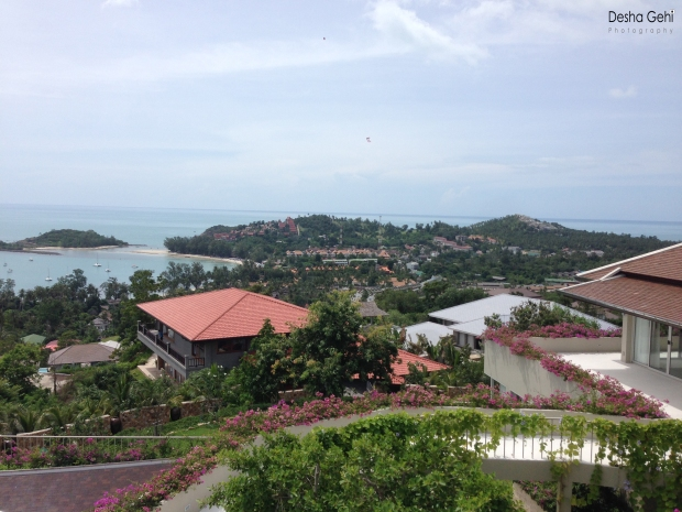 View from Samui Summit Estate copy