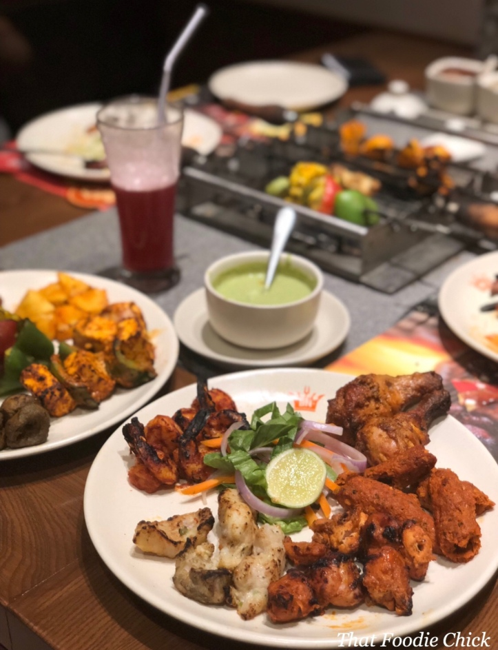 Chill & Grill at Barbeque Nation, Dubai – That Foodie Chick